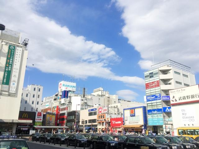 埼玉県の大宮駅前